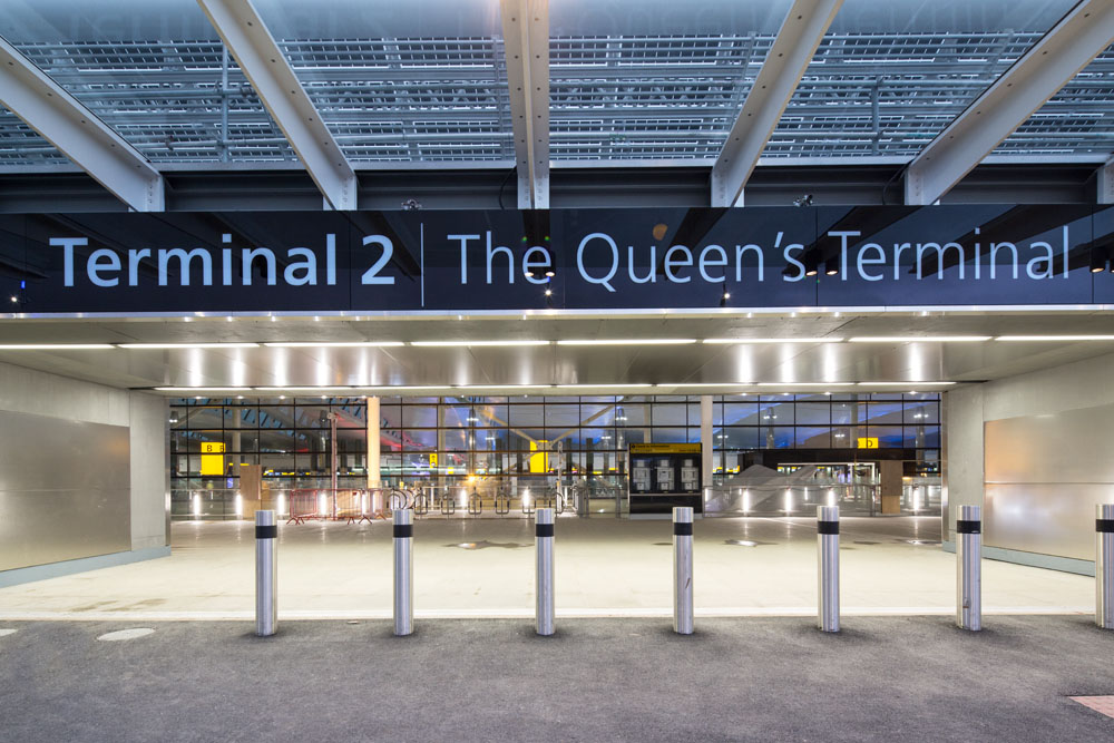 The different airlines at Heathrow are included as Points of Interest within Journey Planner