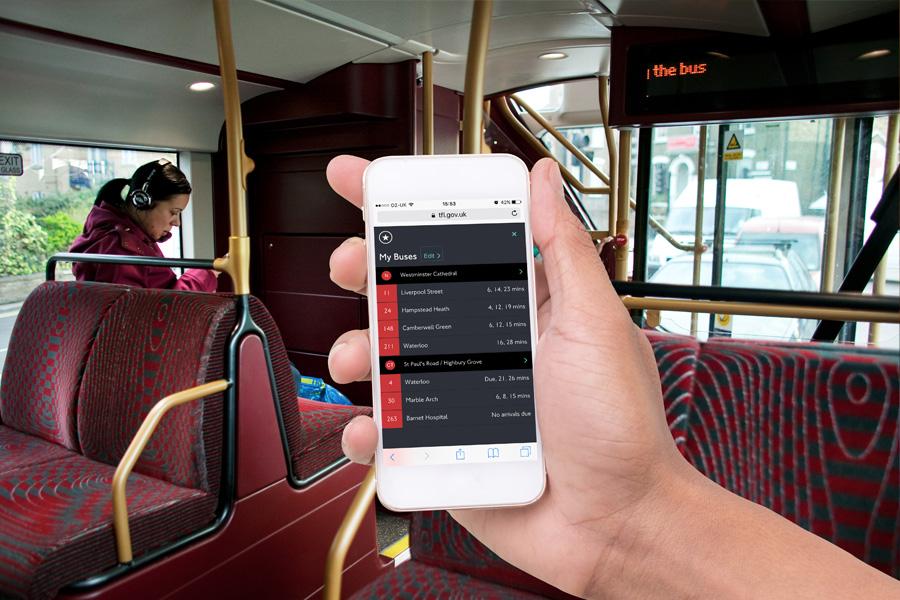 Bus personalisation