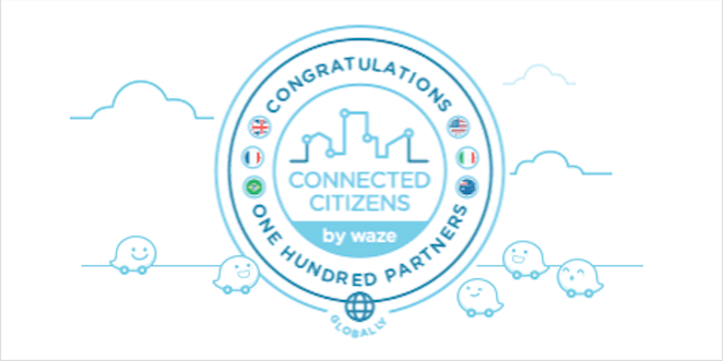 Waze 100 Partners